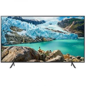 Samsung Flat TV 55 , 4K UHD , HDR , Smart ,Series 7, Black - UA55NU7100