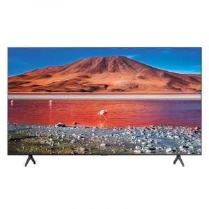 Samsung TV 55 inch, 4K HDR 10 ,Smart , Crystal UHD, Black - UA55TU7000UXUM