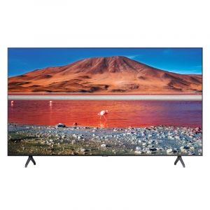 Samsung TV 65 inch, 4K HDR 10 ,Smart , Crystal UHD, Black - UA65TU7000UXUM