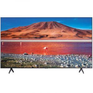 سامسونج تلفزيون ال اي دي 70 بوصة 2020, 4 كيه كريستال الترا اتش دي , اتش دي آر 10 , ذكي , اسود - UA70TU7000UXUM