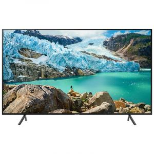 Samsung TV 70 inch LED UHD , 4K HDR 10 ,Smart , Black - UA70RU7100RXUM