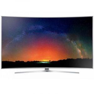 "SAMSUNG Curved LED TV 78"" , SUHD , Smart , Silver - UA78JS9500"
