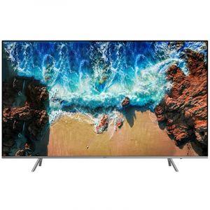 SAMSUNG Flat TV 82, 4K UHD Premium , HDR , Smart , Black - UA82NU8000