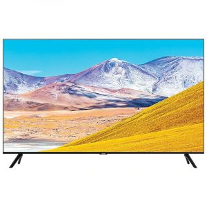 Samsung 2020 TV 82 inch, 4K HDR 10 ,Smart ,Crystal UHD , Series 8 , Black - UA82TU8000UXUM