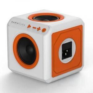 Allocaccoc Audio Cube Portable UK , UKACPT/3903 , 4 Speakers , bass 30 Watts , Bluetooth 4.0 , Jack 3.5 mm , White