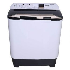 Toshiba Twin Tub Washing Machine ,6.5 Kg , White - VH-H75WBB