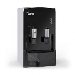 Waco Table Water Dispenser Hot & Cold, 2 Spigots, Black ,Korea - W2-170SP