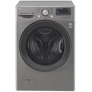 LG Washing Machine ,14kg ,with 8kg Dryer Front load ,Turbo Wash ,Silver - WC1408XM