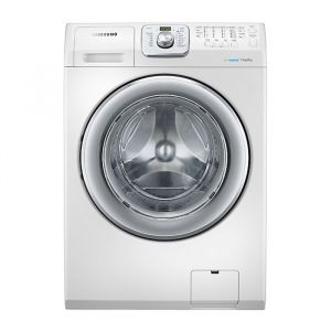 Samsung 14 Kg Front Load combo with Eco Bubble Technology,  White - WD14F5K3ACW
