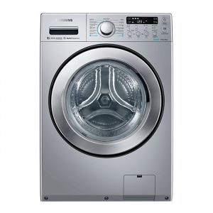 Samsung 14 Kg Front Load combo with Eco Bubble Technology,  Silver - WD14F5K5ASV