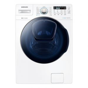 Samsung Washing Machine Front Load 16 kg, Dryer 8.5 kg, Digital Inverter Motor, White - WD16J7800KW1