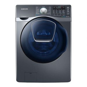 Samsung 18 Kg Combo Add Wash with Eco Bubble™ Gray,  WD18J7810KG