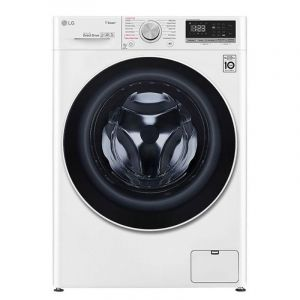 LG Washing Machine Front Load, 9 kg, White - WFV0914WH