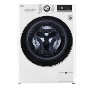 LG Washing Machine Front Load, 10.5 kg, Wi-Fi, White - WFV1114WHT