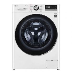 LG Washing Machine Front Load, 10.5 kg, Wi-Fi, White - WFV1114WHT