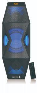 دوتس مكبر صوت 100واط, بلوتوث, يو اس بي, -CX-FL517