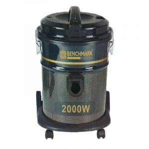 بينشمارك مكسنة كهربائية برميل قدرة 2000 واط، سعة 18 لتر، أسود - VC-2000 H