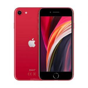 أبل ايفون اس اي 64جيجا , 3جيجا بايت رام ,شاشة 4.7 بوصة, 4جى, أحمر