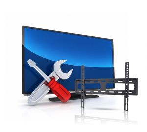 One TV installation service + wall stand from 32 '' to 70 '' - LP34-46F ( Installation service is available inside Riyadh only )