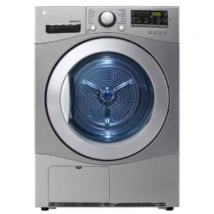 LG 7Kg Condensing Type Dryer, Sensor Dry, Stone Silver Color, Smart Diagnosis - RC7066G2F