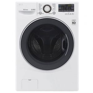 LG Washing Machine, Front load ,14kg, Dryer 8 Kg ,Turbo wash ,White  - WC1408WH