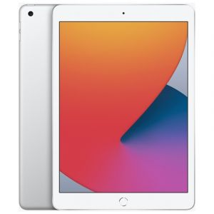 APPLE iPad 8 10.2 inch, 32GB, 3GB RAM, Wi-Fi, 4G, Silver - MYMJ2AB/A