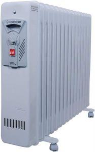 هومر دفايه زيت 11 ريشه, 2000 واط, خاصية التحكم بدرجات الحراره, صناعه ألمانيه - HSA204-01