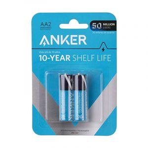 Anker AA Alkaline Batteries, 3200mAh, 2Pack  - B1810H11