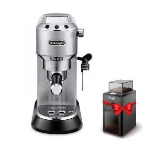 Delonghi Coffe Maker Cappuccino, Latte, Espresso, 15 Bar, 1350W, Steel - DLEC685.M