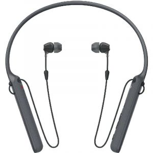 Sony In-Ear Headset with Neckband, Bluetooth/NFC, Built-in Microphone, Black-WI-C400/BZ