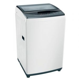 Bosch Top Load Washing Machine 7KG,  Powerwave,  Drum Soft Closing , Glass Lid White - WOE701W0SA