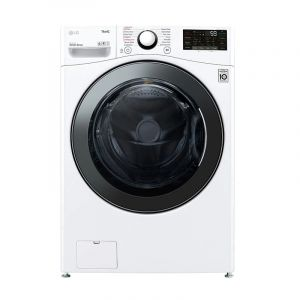 LG Washing Machine Front Load, 17 kg, Dry 100% 10 kg , Inverter Direct Drive, Wi-Fi, White - WS1710WHT