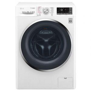 LG Washing Machine, 8 kg ,with 5kg Dryer Front load , White -WSC0805WHN