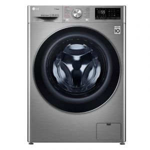 LG Washing Machine Front Load 10.5 kg, Dryer 7 kg, Turbo Wash, Steam, Wi-Fi, 1400 Cycle - WSV1107XMT