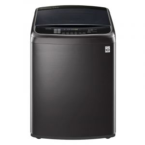 LG Washing Machine Top Load , 24 kg, TurboDrum 3D, Thailand , WiFi , Steam, Black Steel - WTR24HHB1