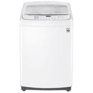 LG Washing Machine Top Load , 14 kg, TurboDrum, Korea, WiFi , White - WTS14HHWK