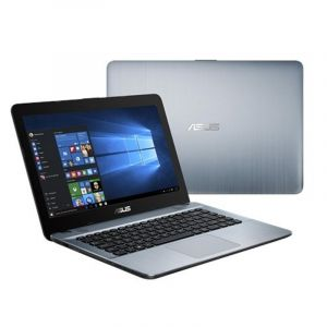"ASUS X441MA-GA059- Intel®Celeron-N4000- 1.1GHz-4GB RAM-1TB HDD- DVDRW - DOS-14""HD LED- Black"