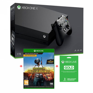 Xbox ONE X 1TB with PlayerUnknown's Battlegrounds Digital Download Game Bundle