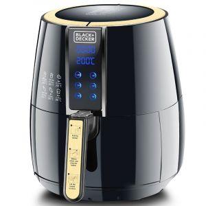 Black Amp Decker Digital Air Fryer 4 Liter Black Af400 B5