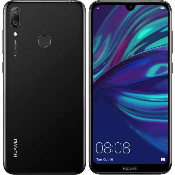 Huawei Y7 Prime 2019, 32 GB Black, 4G LTE