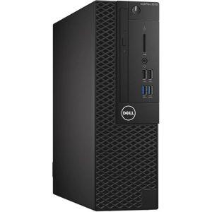 كمبيوتر مكتبي أوبتي بلكس 3050/معالج كور i3 /ذاكرة الوصول العشوائي سعة 4 جيجابايت/ومحرك الأقراص الصلبة سعة 500 جيجا بايت/ وبطاقة رسومات إنتل عالية الدقة 630 أسود