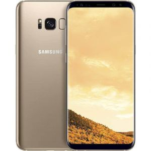 هاتف سامسونج اس 8 بلس , G955F , الرام 4جيجا , معالج اوكتا كور , الذاكرة 64 جيجا , الشبكة 4 جي , ذهبي