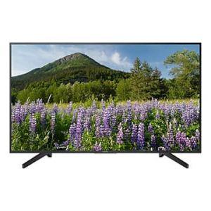 سوني شاشة 55 بوصة , LED , 4K Ultra HD  ، اسود ، KD-55X7077F