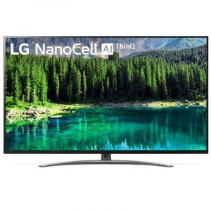 تليفزيون إل جي 55 بوصة، نانوسيل، ذكي، سوبر الترا اتش دي، إل إي دي، اتش دي ار، أسود - 55SM8600PVA