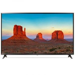 تليفزيون ال جى55 بوصة 4كيه ، ذكى، مالتى اتش دي أر، مع خاصية الدولبي فيجن - 55UK6100PVA