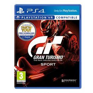 لعبة جران توريزمو سبورت - بلاي ستيشن 4 -SC-PS4-GTSPORTS