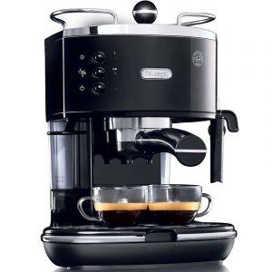 ديلونجي محضرة القهوة الإسبريسو ايكونا- اسود - ECO310BK