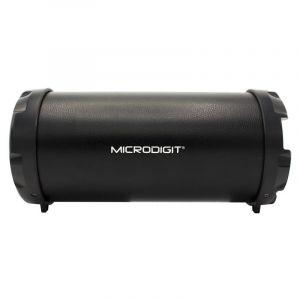 مايكروديجيت  سماعة بلوتوث محمولة اللاسلكية, اللون اسود-M0054RT