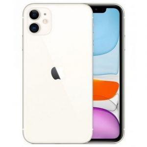 أبل ايفون 11 سعة تخزين 64 جيجابايت ,الجيل الرابع , أبيض