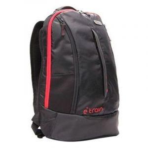 اي ترين حقيبة ظهر لابتوب 15.6 بوصة اللون اسود